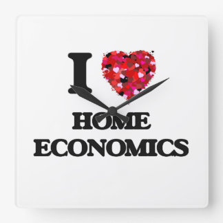 I Love Home Economics Clocks