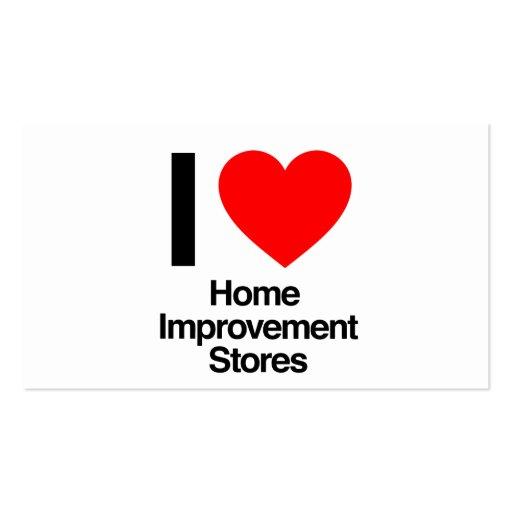 Improvement business cards 1100 improvement busines for Home improvement business card template