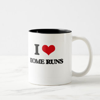 I love Home Runs Coffee Mug