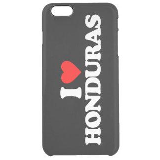 I LOVE HONDURAS CLEAR iPhone 6 PLUS CASE