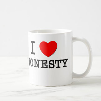 I Love Honesty Coffee Mug