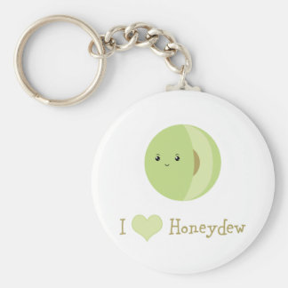I love Honeydew Key Ring