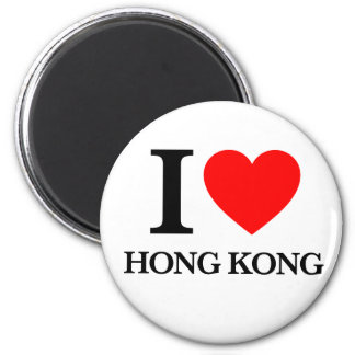 I Love Hong Kong Magnet