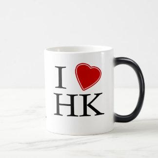 I Love Hong Kong 11 Oz Magic Heat Color-Changing Coffee Mug