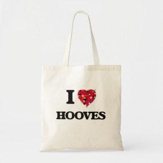 I Love Hooves Budget Tote Bag