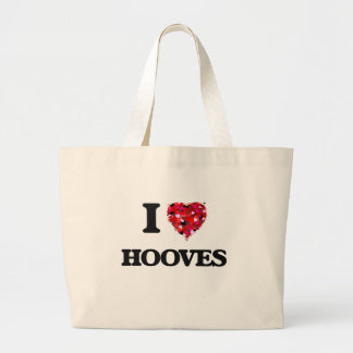 I Love Hooves Jumbo Tote Bag