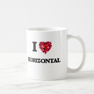 I Love Horizontal Basic White Mug