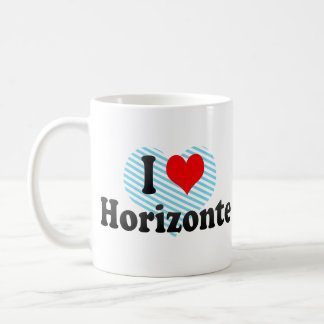 I Love Horizonte, Brazil Coffee Mug