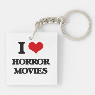 I love Horror Movies Acrylic Keychain