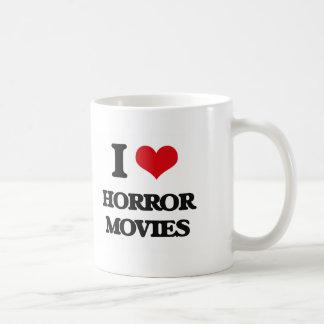 I love Horror Movies Coffee Mugs