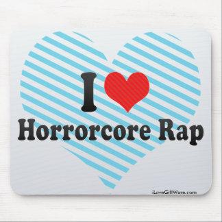 I Love Horrorcore Rap Mouse Pads