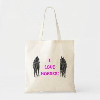 I Love Horses! Book Bag