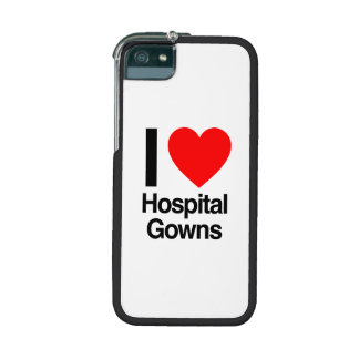 i love hospital gowns case for iPhone 5/5S