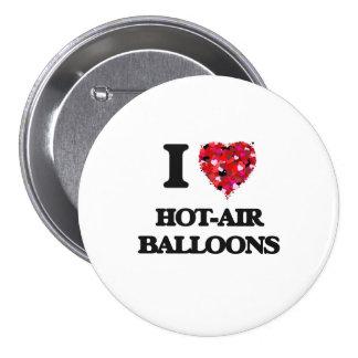 I Love Hot-Air Balloons 7.5 Cm Round Badge
