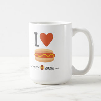 I love Hot Dogs Coffee Mug