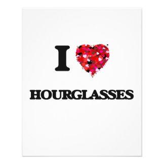 I Love Hourglasses 11.5 Cm X 14 Cm Flyer
