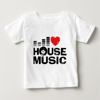 I Love House Music Baby T-Shirt