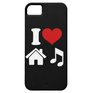 I Love House Music iPhone 5 Case