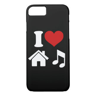 I Love House Music iPhone 8/7 Case