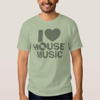 I Love House Music Tees