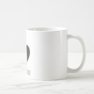 i LOVE HUBBY Coffee Mug