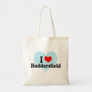 I Love Huddersfield, United Kingdom Tote Bag