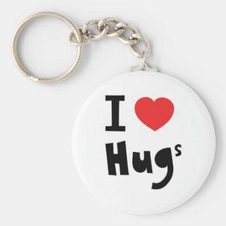 I love hugs key ring