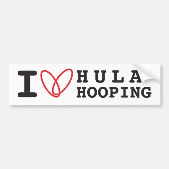 Love nursing car bumper sticker zazzle - I Love Hula Hooping Bumper Sticker Zazzle Com Au