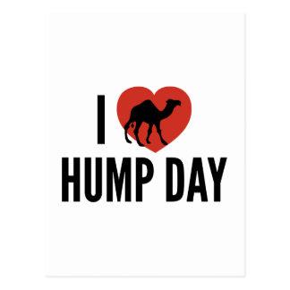 I Love Hump Day Postcard