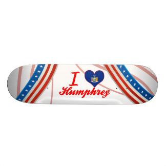 I Love Humphrey, New York Skate Board