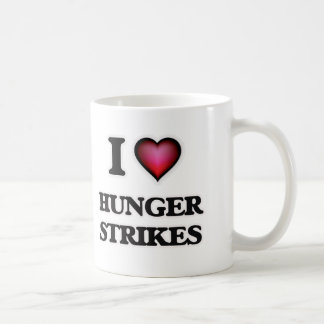 I love Hunger Strikes Coffee Mug