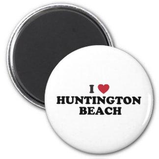 I Love Huntington Beach California Magnet