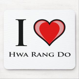 I Love Hwa Rang Do Mouse Pad