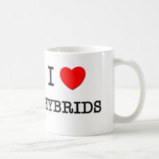 I Love Hybrids Coffee Mugs