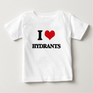 I love Hydrants T Shirts