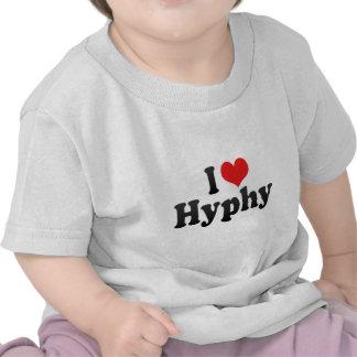 I Love Hyphy Tee Shirt