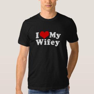 I Love (I Heart) My Wifey Wife Valentine's Day T-shirt