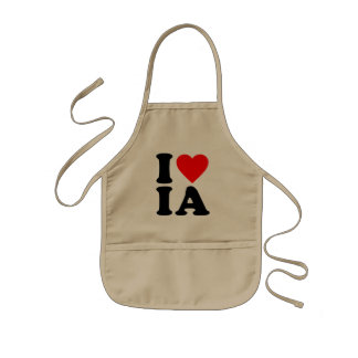 I LOVE IA APRONS