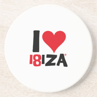 I love Ibiza 18IZA Special Edition 2018 Coaster