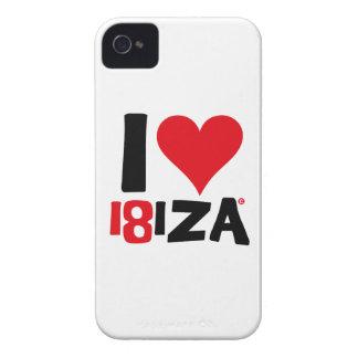 I love Ibiza 18IZA Special Edition 2018 iPhone 4 Case-Mate Cases