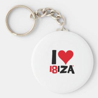 I love Ibiza 18IZA Special Edition 2018 Key Ring