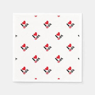 I love Ibiza 18IZA Special Edition 2018 Paper Serviettes