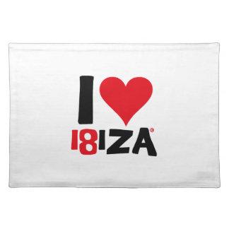I love Ibiza 18IZA Special Edition 2018 Placemat
