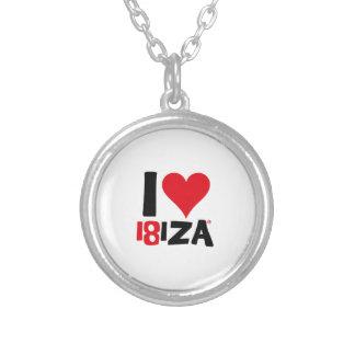 I love Ibiza 18IZA Special Edition 2018 Silver Plated Necklace