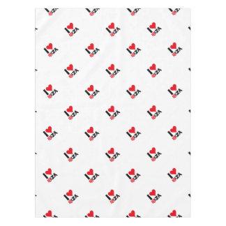 I love Ibiza 18IZA Special Edition 2018 Tablecloth