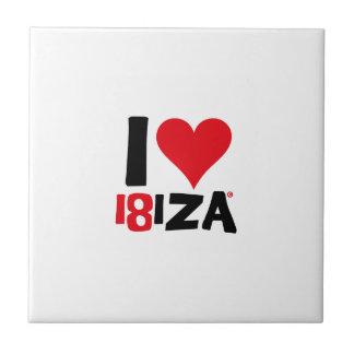 I love Ibiza 18IZA Special Edition 2018 Tile