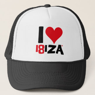I love Ibiza 18IZA Special Edition 2018 Trucker Hat