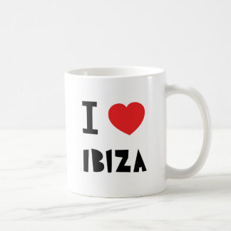 I love Ibiza Coffee Mug