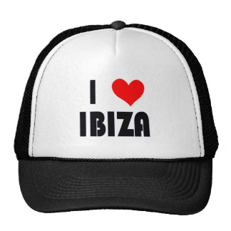 I Love Ibiza hat