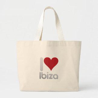 I LOVE IBIZA LARGE TOTE BAG